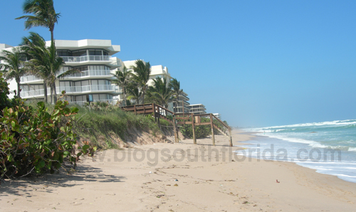 South Florida Oceanfront Condo and Beach