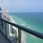50th Floor from Oceanfront Condo